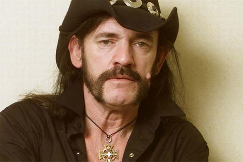 Retrato de Lemmy Kilmister