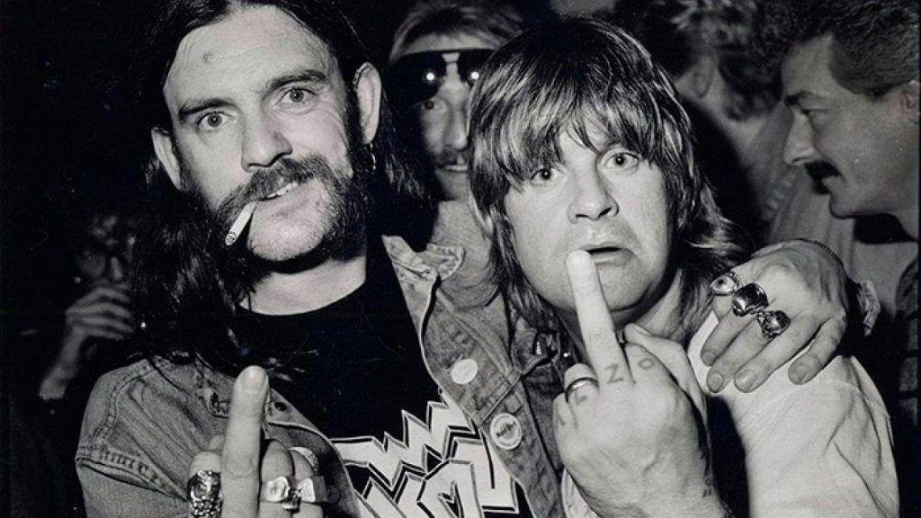 Lemmy y Ozzy Osbourne