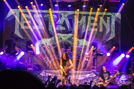 Confirman contagio por coronavirus de Chuck Billy, vocalista de Testament