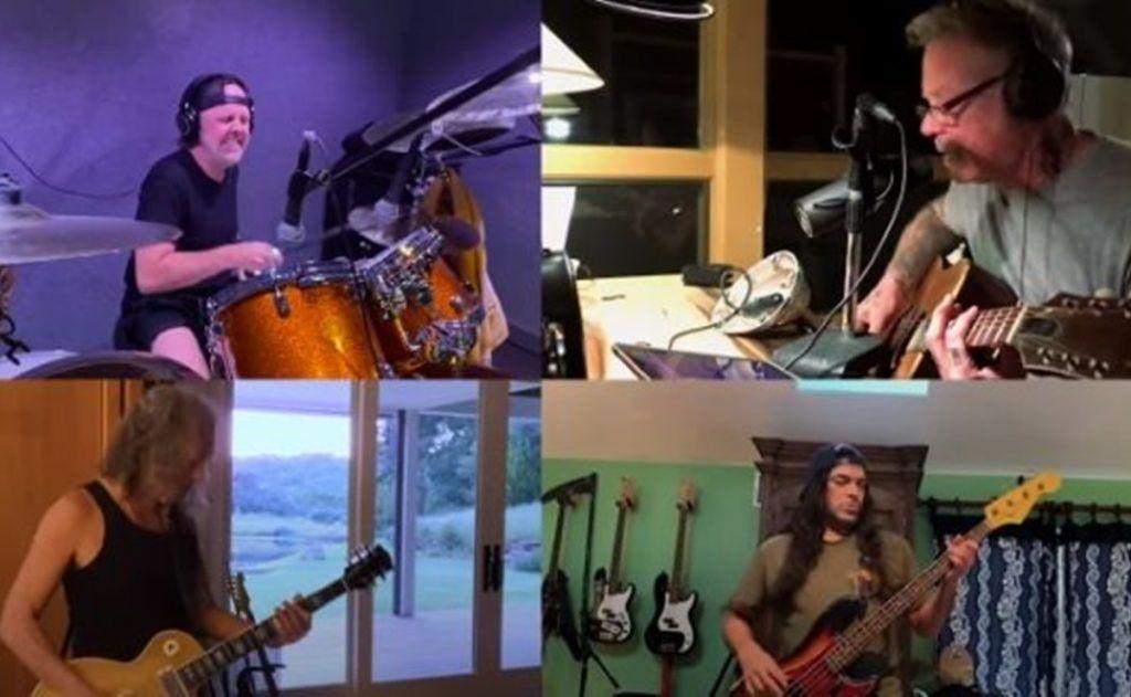 Metallica confirma que trabaja en su nuevo álbum a través de Zoom | Garaje del Rock