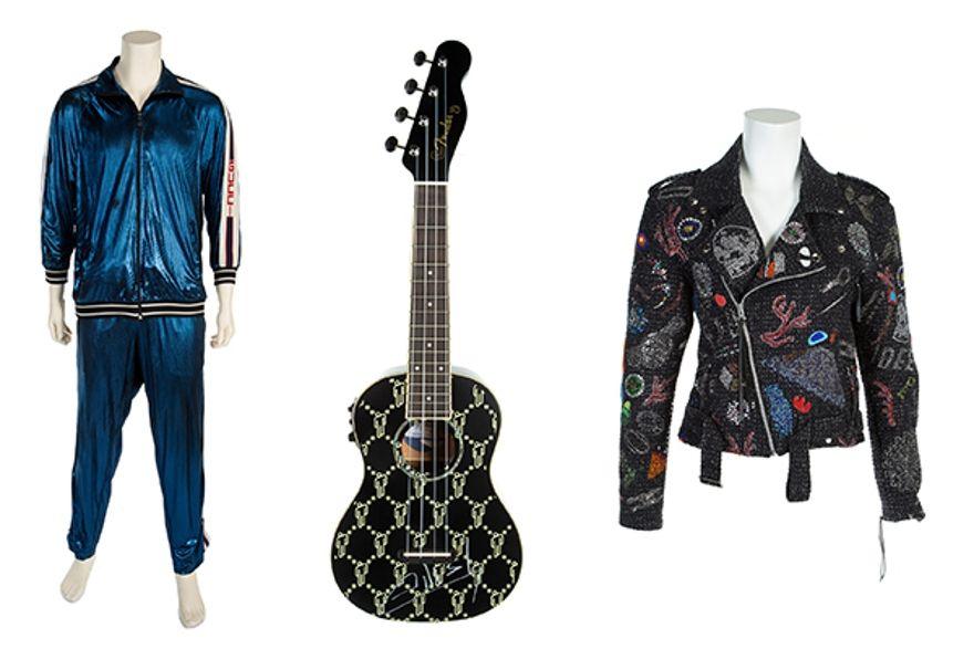 Guitarras firmadas por Robert Plant y Carlos Santana serán subastadas en evento benéfico
