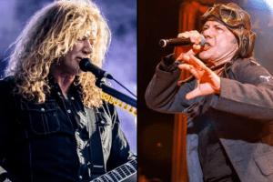 Dave Mustaine recibió consejos de Bruce Dickinson tras su diagnóstico de cáncer