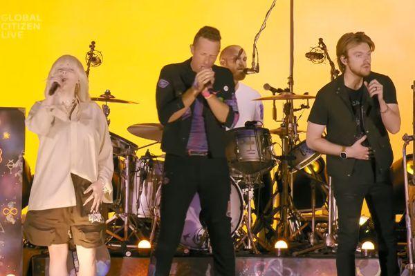 Coldplay, Billie Eilish y Finneas