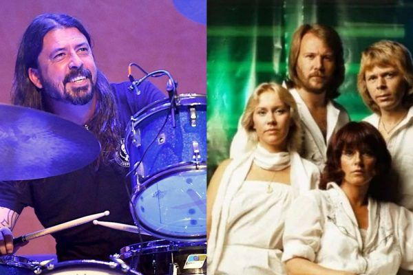 Dave Grohl y ABBA