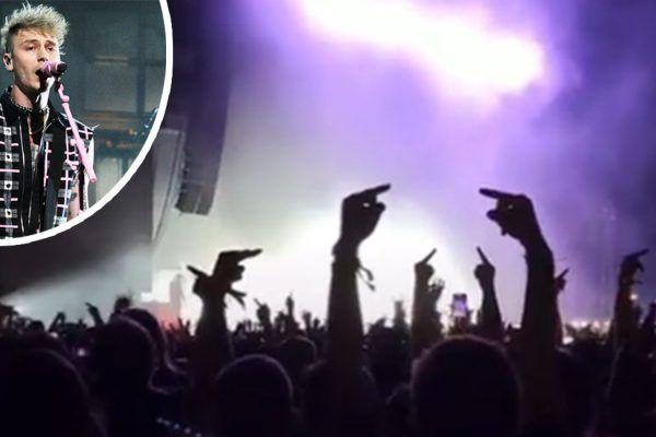 Fans de Slipknot abuchean a Machine Gun Kelly