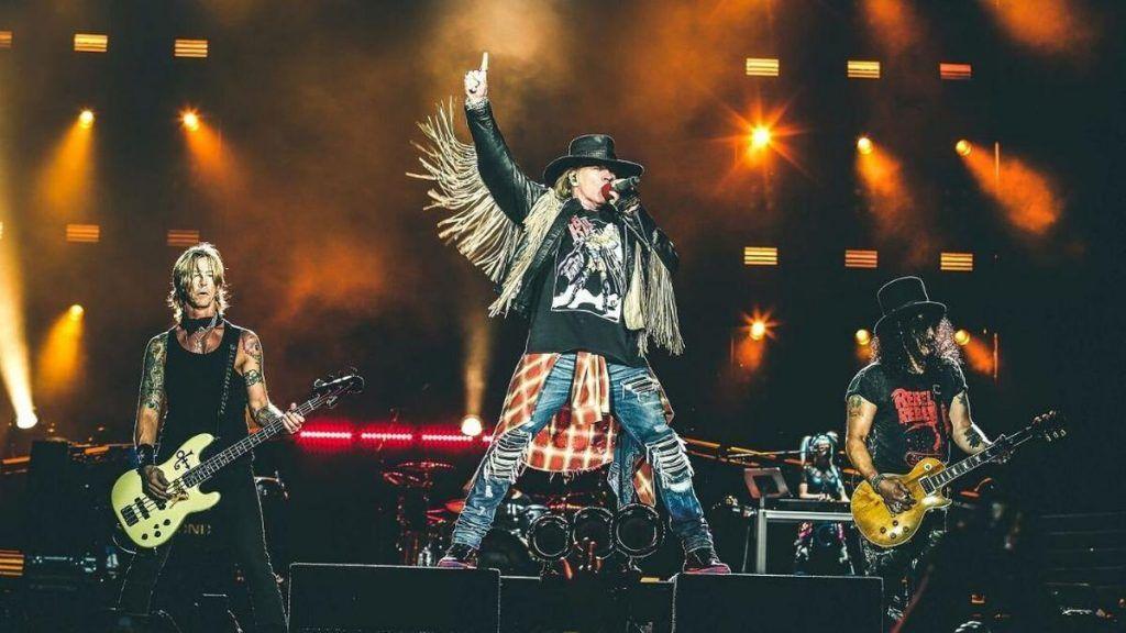 Guns N' Roses en Sudamérica 2022