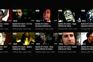 System Of A Down actualiza videoclips en HD