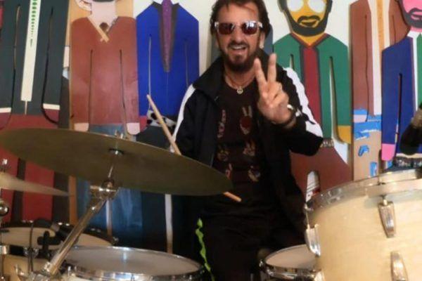 Ringo Starr se une a los grandes de la batería para una versión de 'Come Together'