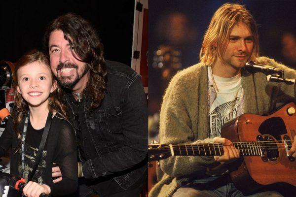 Dave Grohl recuerda cuando su hija Harper le preguntó por Kurt Cobain