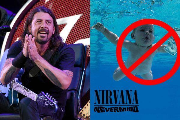 Dave Grohl señala que cambiaría la portada de Nevermind