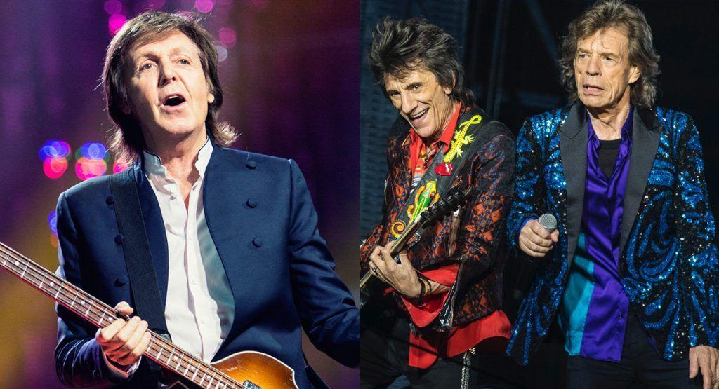 Paul McCartney dice que The Rolling Stones es «una banda de covers de blues»