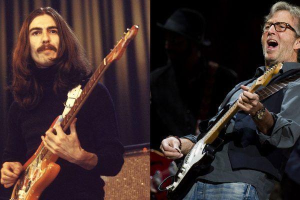 The Beatles iba a reemplazar a George Harrison con Eric Clapton